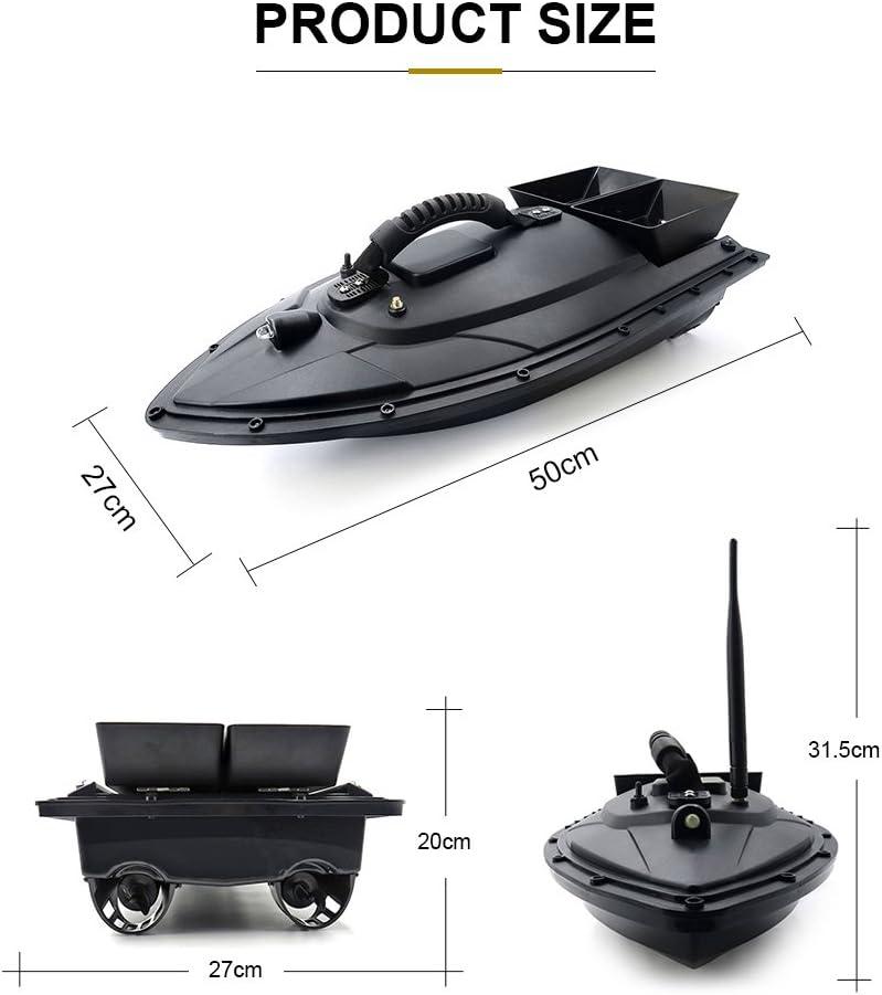 Flytec 2011-5 pêche Outils Smart RC BAIT BOAT 7.4 V 5200 mAh double Auto Bateau