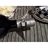 Stylish Bling Open Heart Wine Stopper - 60 Pieces