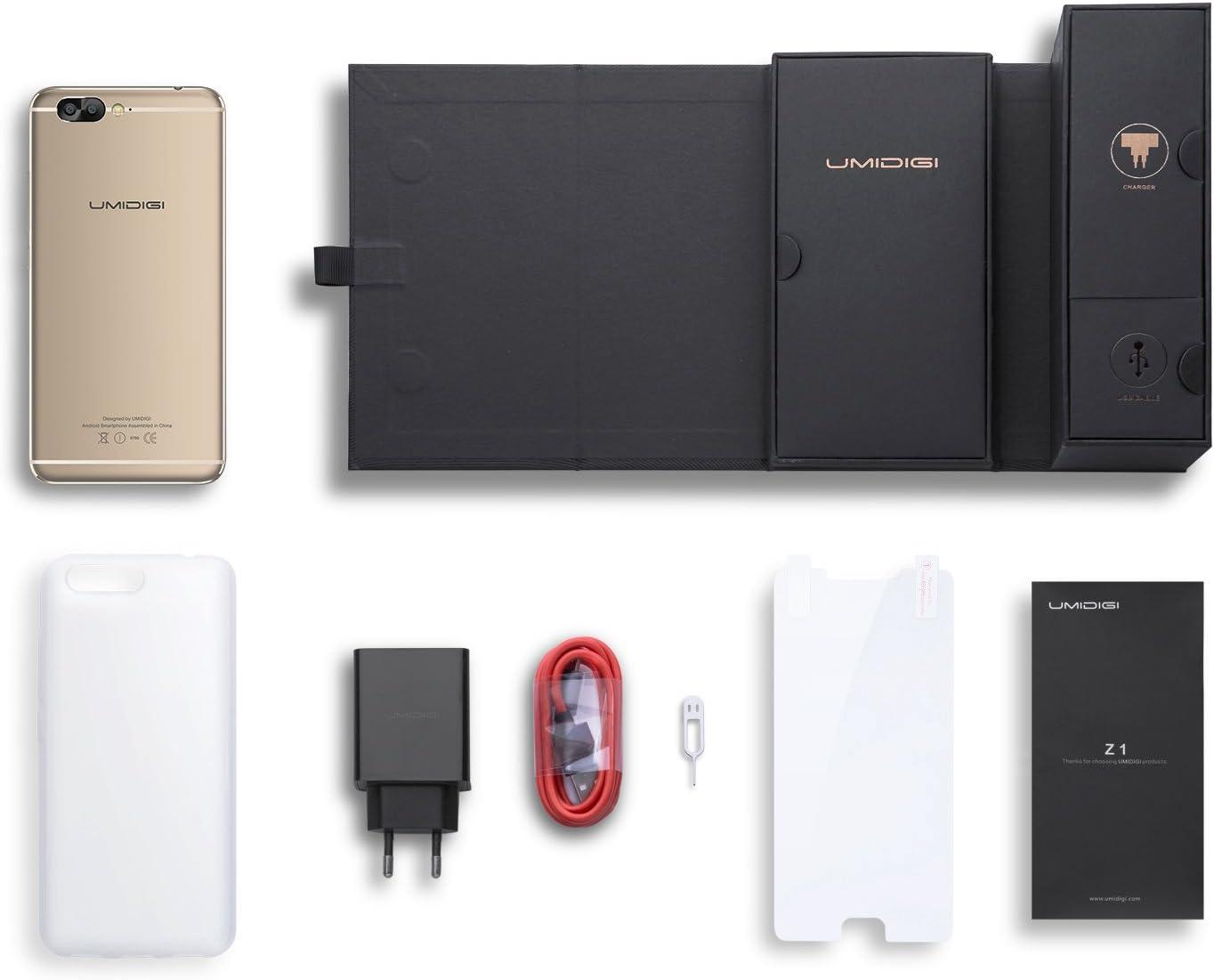 UMIDIGI Z1 - Smartphone Libre 4G de 5.5 FHD (FDD-LTE, 6GB de RAM ...
