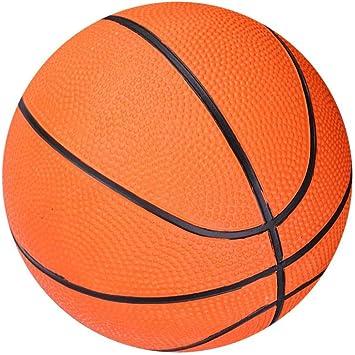 Dilwe Mini Baloncesto para Ni?os, Miniball de Goma Inflable Art ...