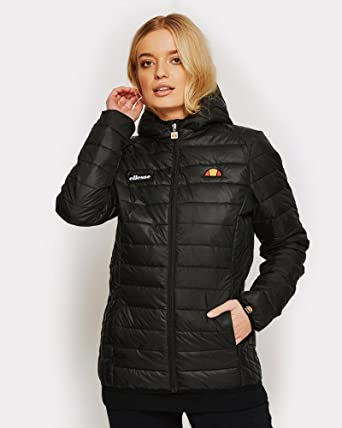 a09b429e Amazon.com: ellesse Women Quilted Jacket Lompard: Clothing