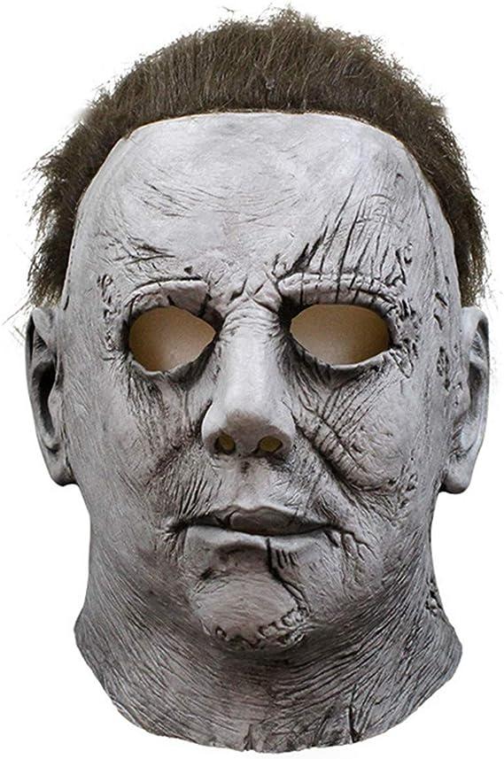 Halloween Michael Myers Mask Helmet Halloween Costume Trick or Treat Party Prop