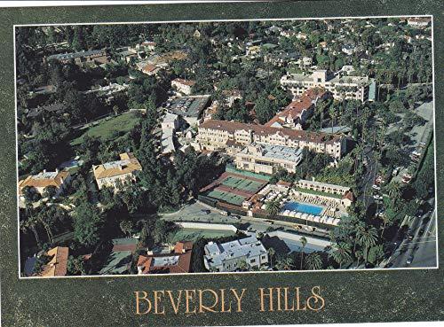 3LA-025C LA-025C Aerial view of the Beverly Hills Hotel LA-025C [[ 6 1/2