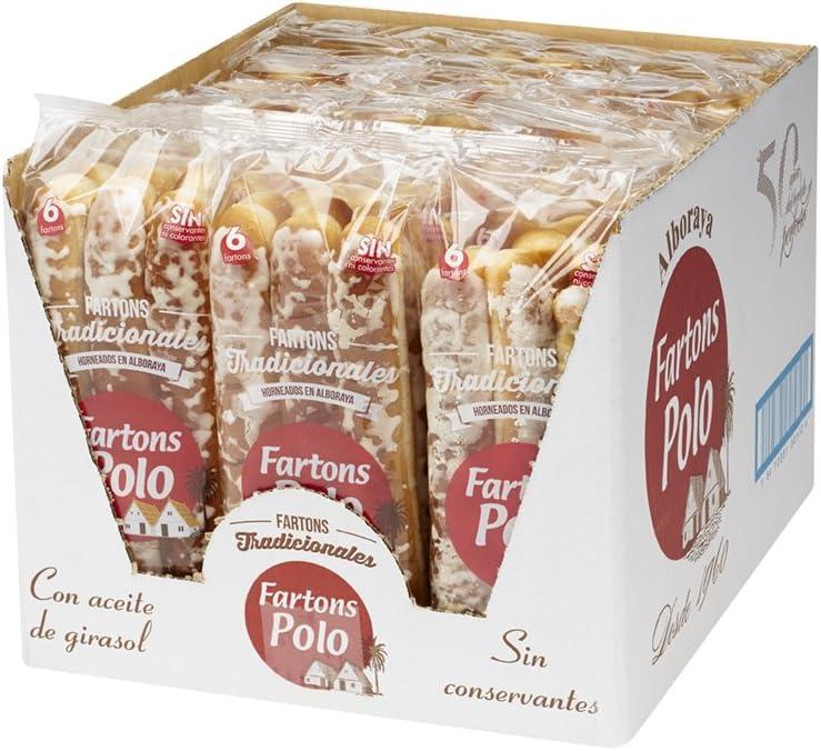 Fartons Polo Tradicionales - caja de 18 bolsas de 6 fartons ...