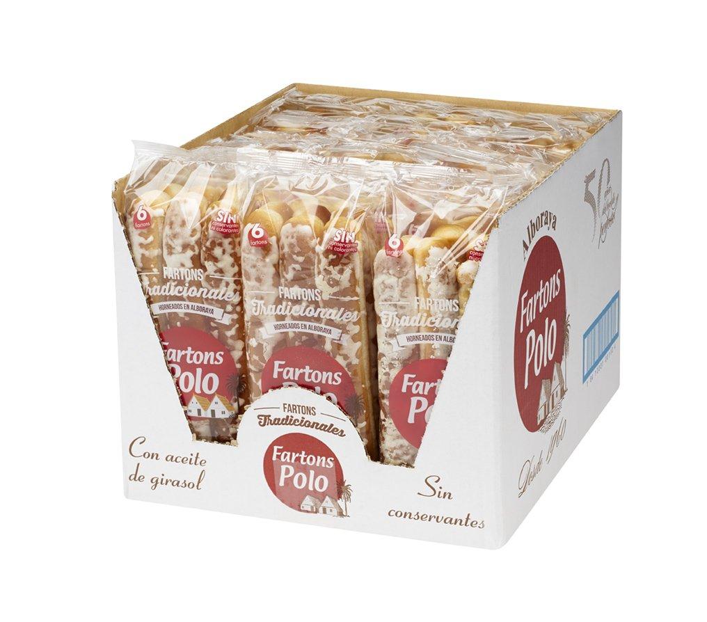 Fartons Polo Tradicionales - caja de 18 bolsas de 6 fartons -: Amazon.es: Alimentación y bebidas