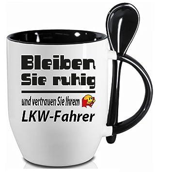 Sprüche Tasse Kaffee Macht Schön Löffelbecher Schwarz