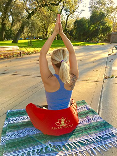 Ashan Cradle Healthy Posture Support Strap and Yoga Shoulder Bag.