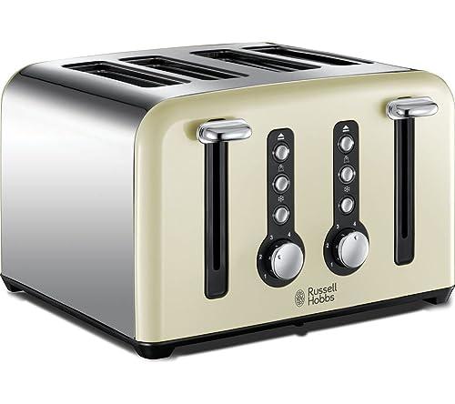 Russell Hobbs Heritage 4 Slice Toaster 18369 Cream