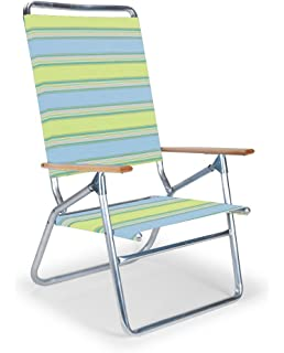telescope casual light and easy high boy folding beach arm chair coastal - Telescope Casual