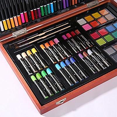 Caja Colores Niños Estuche de Arte de inspiración para Adultos de Pintura para niños, Regalos para niños, de 4 a 8 años de Edad, Dales el Espacio para Imaginar niños Principiantes y