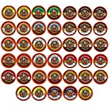 Crazy Cups Flavored Coffee Single Serve Cups for Keurig K Cups Brewer Variety Pack Sampler 40-count offers