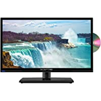 Sceptre 20 Inch LED HDTV with Build-in DVD Player, TV-DVD Combo Black 2018