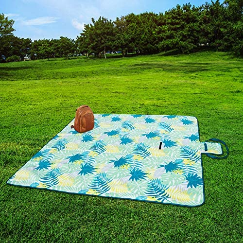 Outdoor Blanket Waterproof Backing Stripes