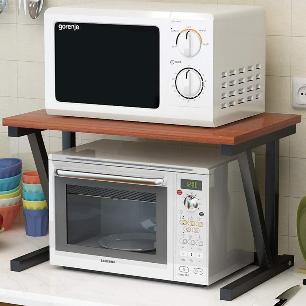 Rack de Cocina Horno microondas Estante de Almacenamiento de Doble ...