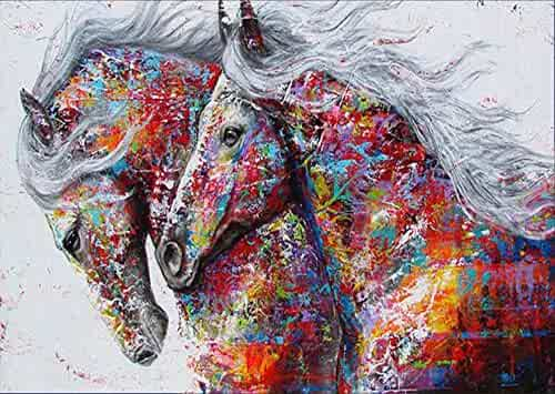 5D Diamond Painting Full Drill feilin DIY Diamond Rhinestone Painting Kits for Adults and Beginner Embroidery Arts Craft Home Decor Dog 30x40cm
