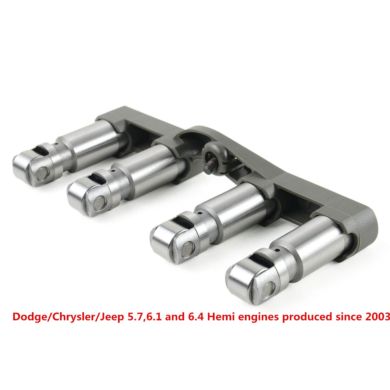 MSQ-CD Roller Lifters Set Bridges NON-MDS FOR Dodge//Jeep//Ram HEMI 345 5.7 6.1L 53021720AB 53021720AD 53021720AE 53021720BB 53021572AC 4