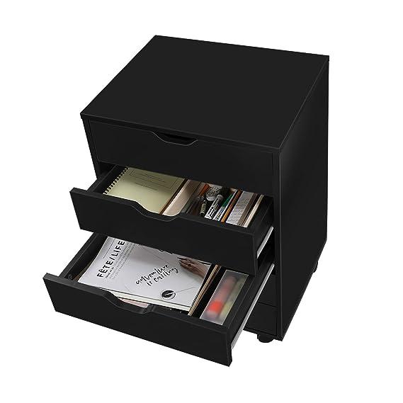 Amazon.com: DEVAISE - Cómoda con 7 cajones para oficina y ...