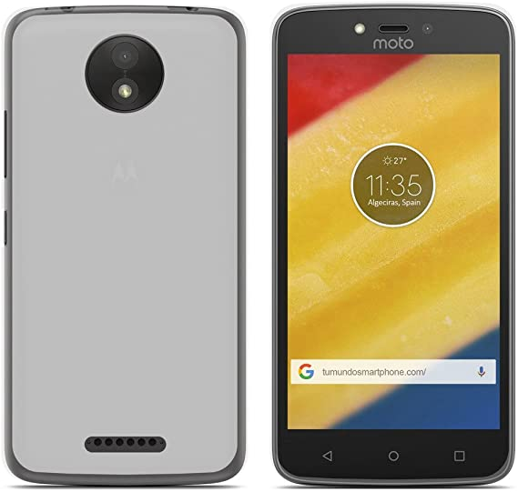Tumundosmartphone Funda Gel TPU para Motorola Moto C Plus Color ...