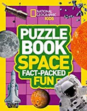 Save on Puzzle Book Space: Brain-tickling quizzes, sudokus, crosswords and wordsearches (National Geographic Kids Puzzle Books) and more