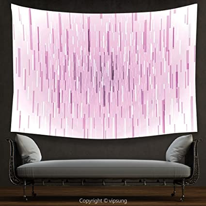 Amazon.com: House Decor Tapestry Magenta Decor Trippy Falling ...