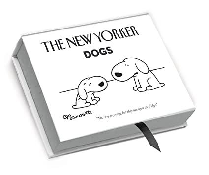 amazon com the new yorker nyb04 deluxe boxed cartoon notecards dogs