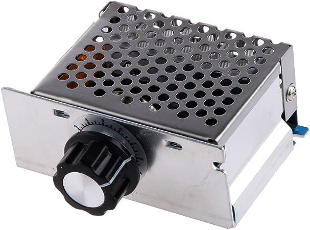 4000W 220V AC SCR Controlador de Temperatura de Velocidad ...