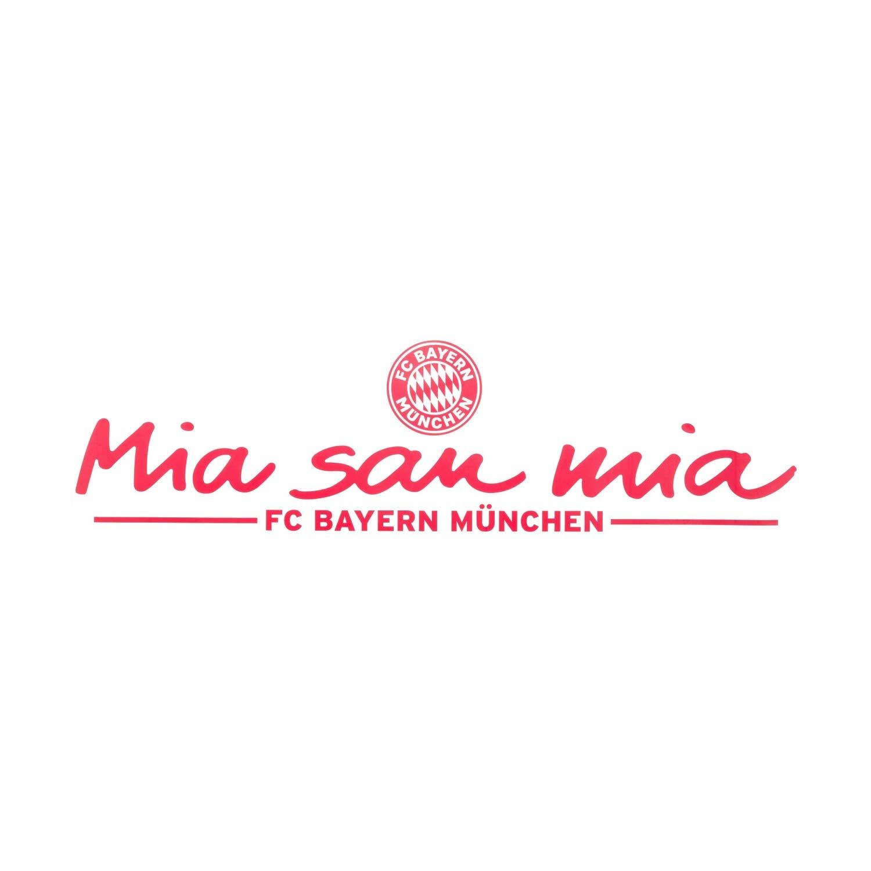 Plus Lesezeichen I Love M/ünchen Autoaufkleber Aufkleber FC Bayern M/ünchen Heckscheibenaufkleber Mia san mia Sticker FCB