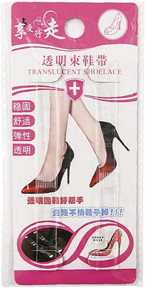 2 Accoppiamenti Delle Donne Del Silicone Invisibile Scarpe