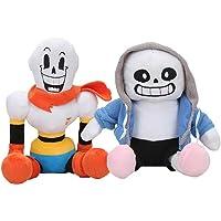 2pcs/Set 30cm Anime Undertale Plush Toys Sans Papyrus Asriel Toriel Stuffed Plush Toys Doll