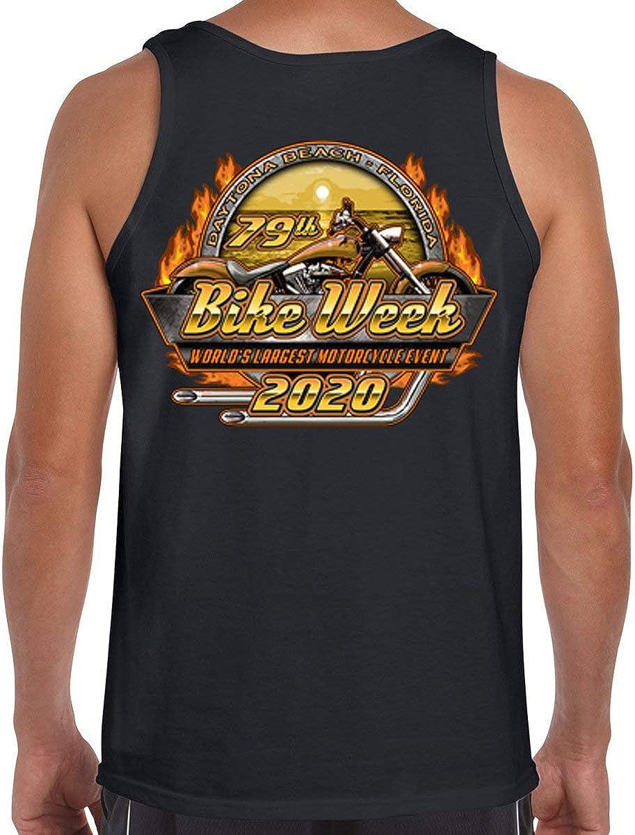2020 Bike Week Daytona Beach Official Logo Tank Top