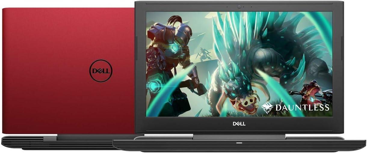 "Newest Dell G5 15.6"" FHD Premium Gaming Laptop | Intel 6-Core i7-8750H up to 4.1GHz | 32GB RAM | 1024GB SSD | NVIDIA GeForce GTX 1050 Ti 4GB GDDR5 | Backlit Keyboard | Windows 10 | Red"