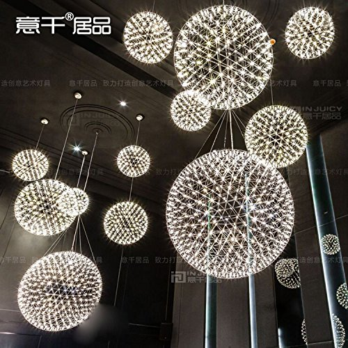 (Injuicy Lighting Loft Fireworks LED Ceiling Lamp Glass DropLight Flute Pendant Cafe Dinning)