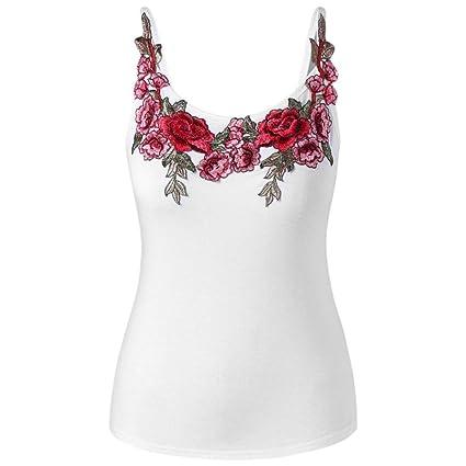 Challeng Mujeres de moda Tamaño grande Bordado de rosas Flor Vestimenta Camisa Top Honda Vestimenta (