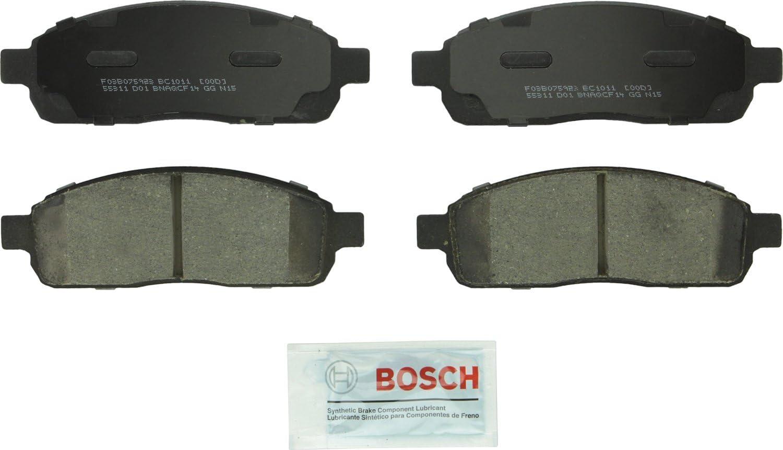 Front Ceramic Brake Pads w// Rubber Shims For F150 Lincoln Mark LT