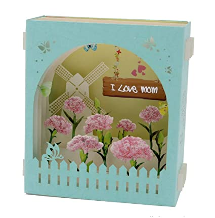 Amazon IShareCards Mothers Day Gifts 3D Pop Up Display
