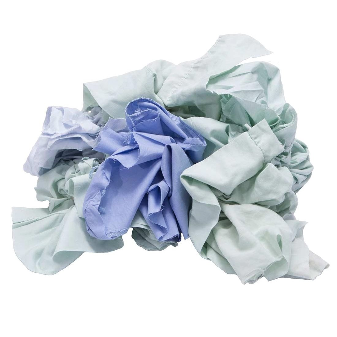Pro-Clean Basics A99406 Recycled or Reclaimed Colored Sheeting Rags Pallet