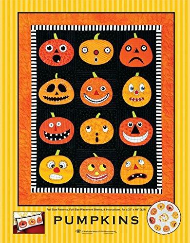 Amy Bradley Designs ABD275 Pumpkins Quilt Pattern (Halloween Quilt Wall Hanging Patterns)