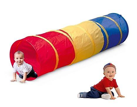Tende Per Bambini Da Gioco : Vetrineinrete® tunnel da gioco pieghevole per bambini tenda pop up