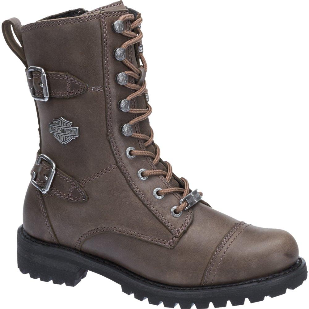 Harley Davidson Womens Balsa Leather Boots37 EU Stone
