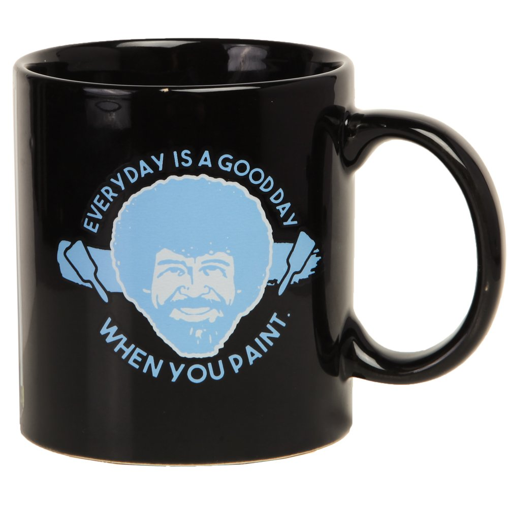 Bob Ross Heat Activated Canvas 16 oz. Coffee Mug by Classic Imports (Image #2)