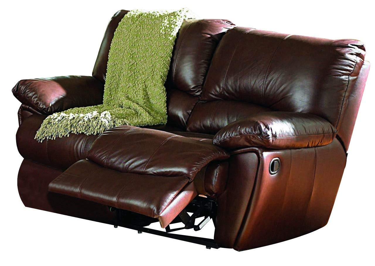 Awesome Coaster Home Furnishings Clifford Motion Loveseat Chocolate Interior Design Ideas Pimpapslepicentreinfo