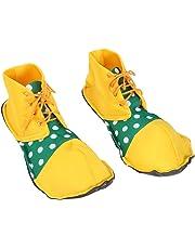 Amosfun Tamaño Medio Zapatos de Payaso Dot Disfraz de Halloween Zapatos de Payaso Disfraces de Carnaval