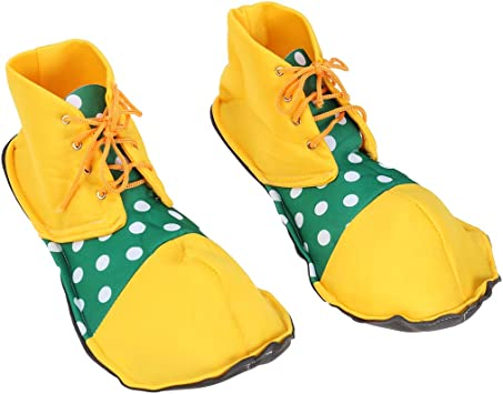 Amosfun Tamaño Medio Zapatos de Payaso Dot Disfraz de ...