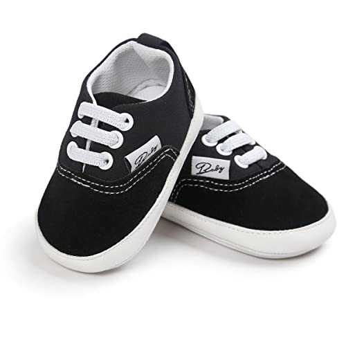 b3ca1f76371 FAMI Baby Boys Girls Canvas Toddler Sneaker Anti-Slip First Walkers Candy  Shoes 0-
