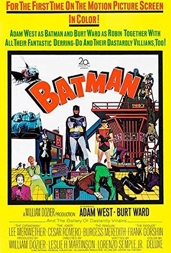 Batman - 1966 - Movie Poster -