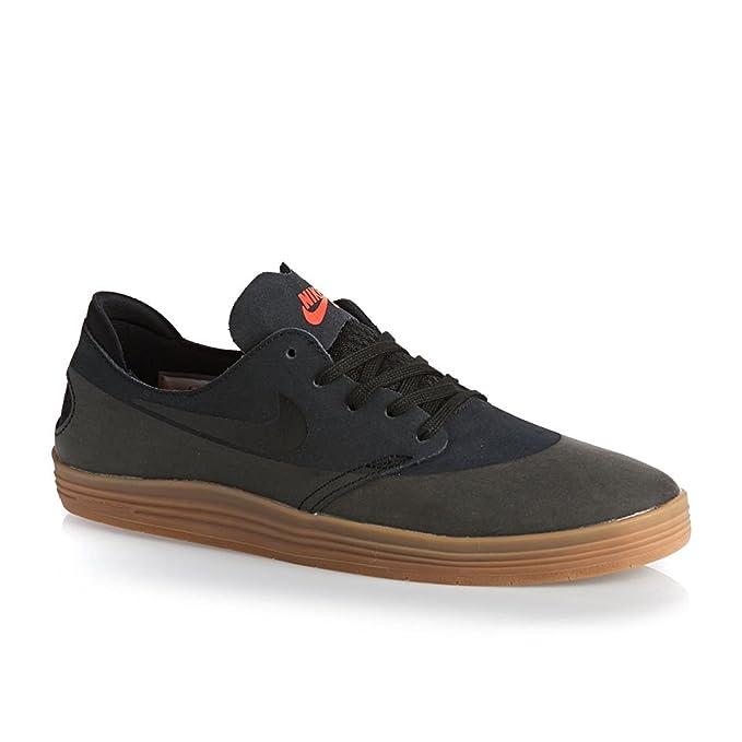 02c642ec12ba Nike Men s SB Lunar Oneshot - Black  Black-Gum Medium Brown