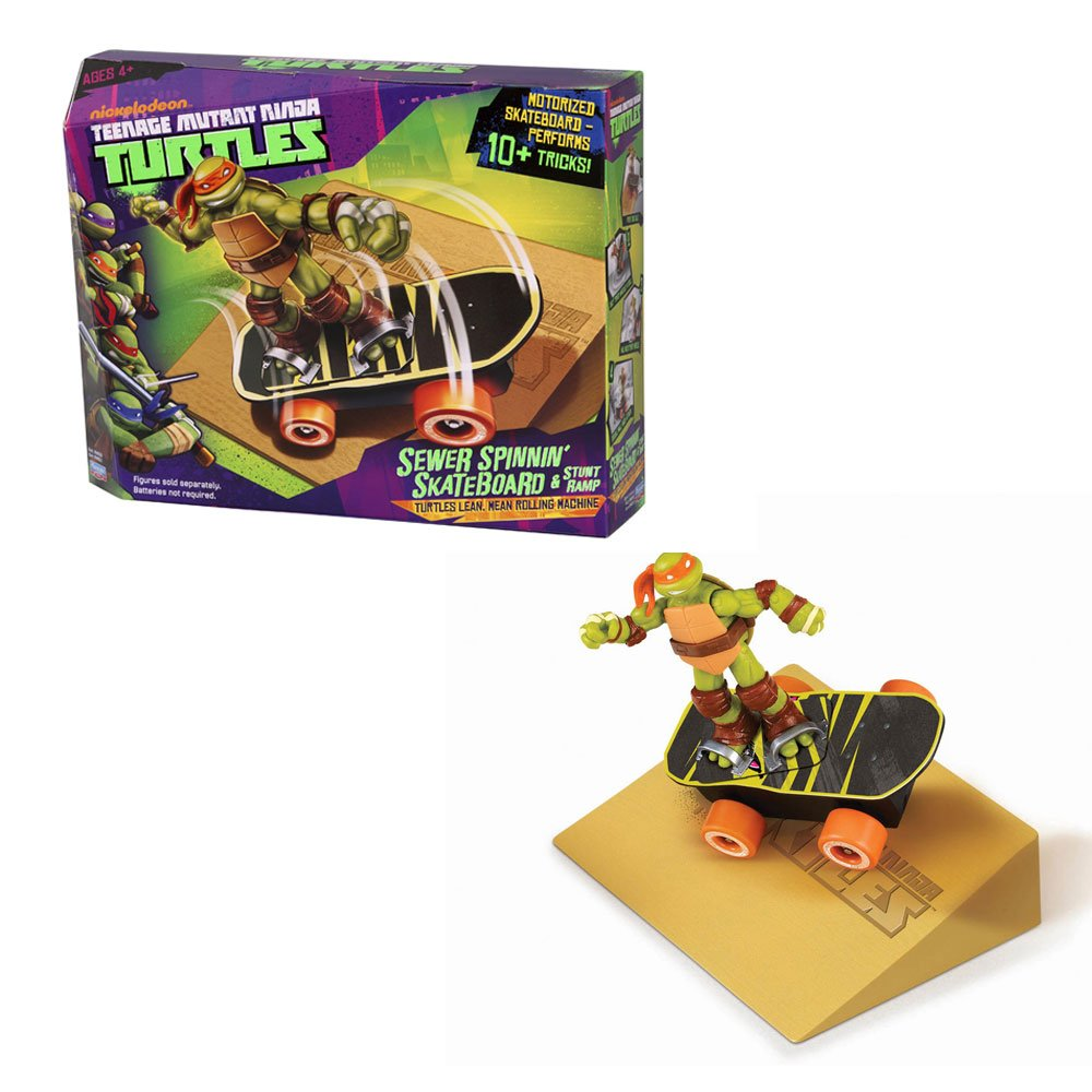 Amazon.com: Ninja Turtles alcantarillado Spinnin – Tabla ...