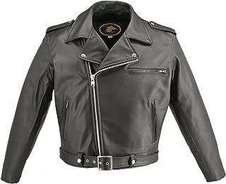 product image for Men's Classic Highwayman Horsehide Jacket (50)