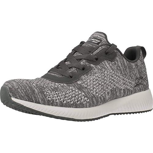 Calzado Deportivo para Mujer, Color Gris, Marca SKECHERS, Modelo Calzado Deportivo para Mujer SKECHERS 32523S Gris: Amazon.es: Zapatos y complementos