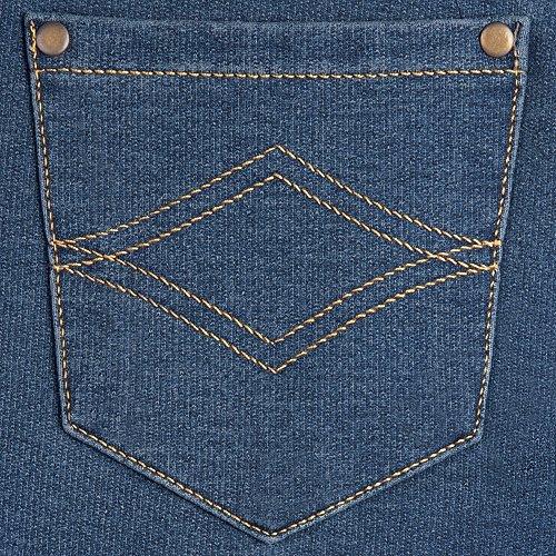 c7b409593 PajamaJeans Women's Boyfriend Stretch Knit Denim Jeans, Bluestone, Large  12-14